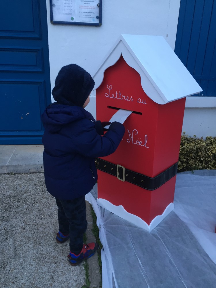 La boîte à lettres du Père Noël
