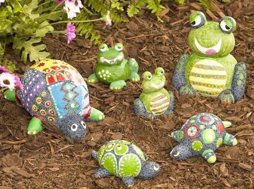 Grenouilles et tortues