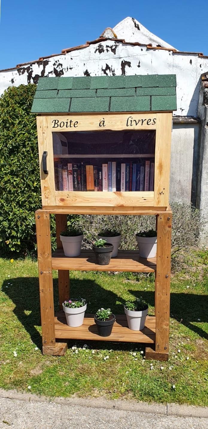 La Boîte à LIvres de Précy-sur-Marne