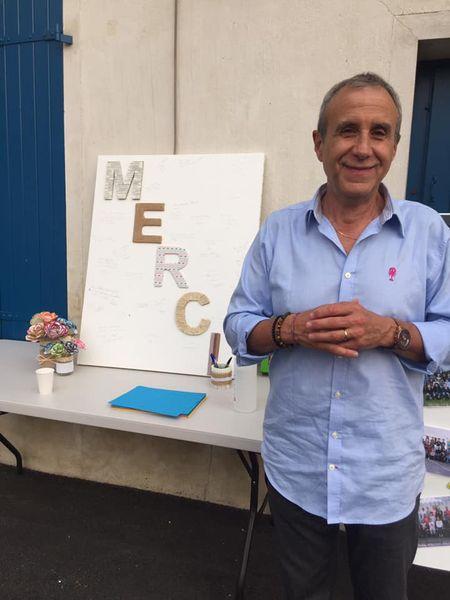 Départ à la retraite de Philippe Lamy, directeur de l'école de Précy-sur-Marne