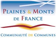 Logo de la communauté de communes des Plaines et Monts de France