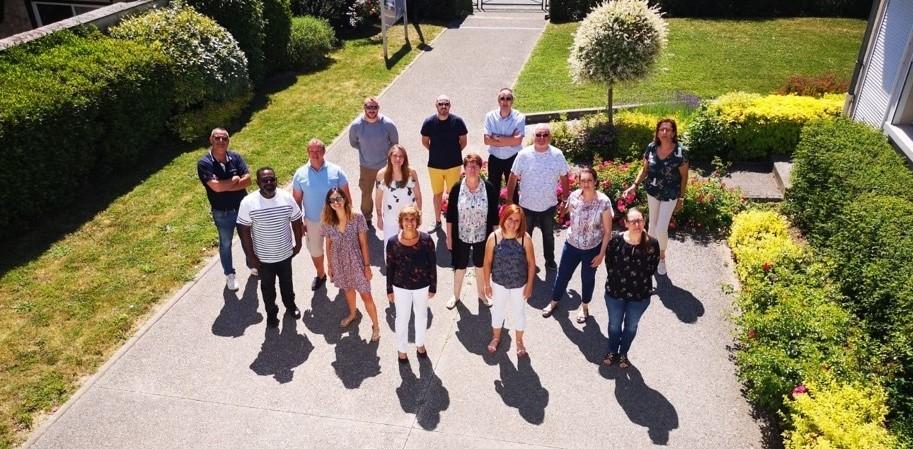 Photo de groupe des membres du conseil