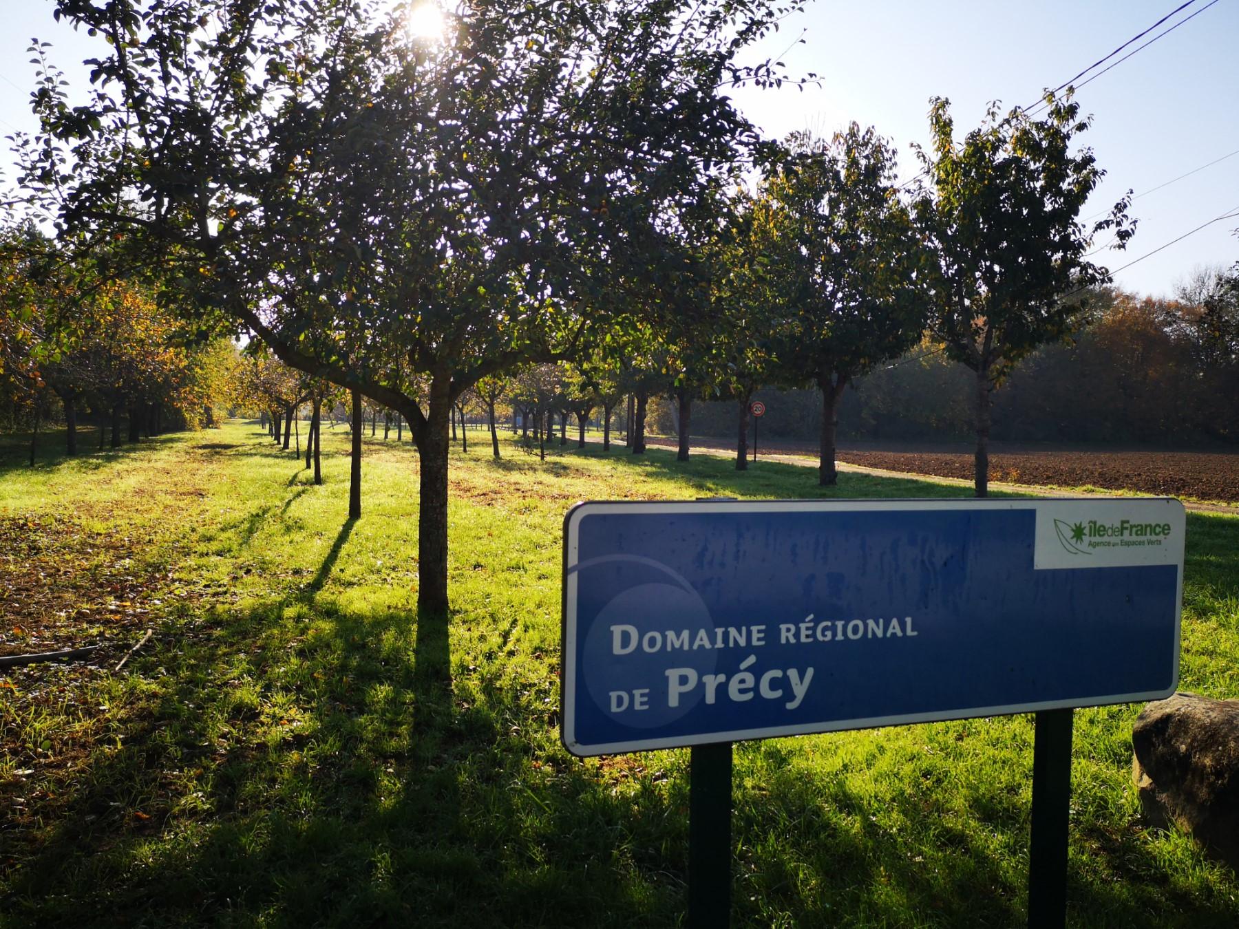 Le domaine régional de Précy
